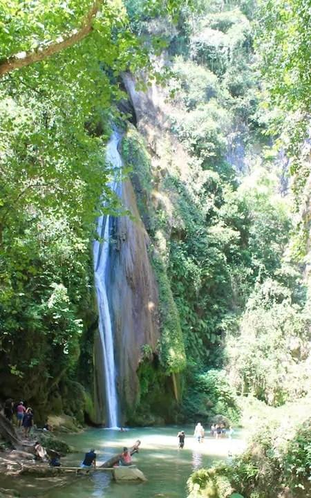 Cascadas de Chuveje