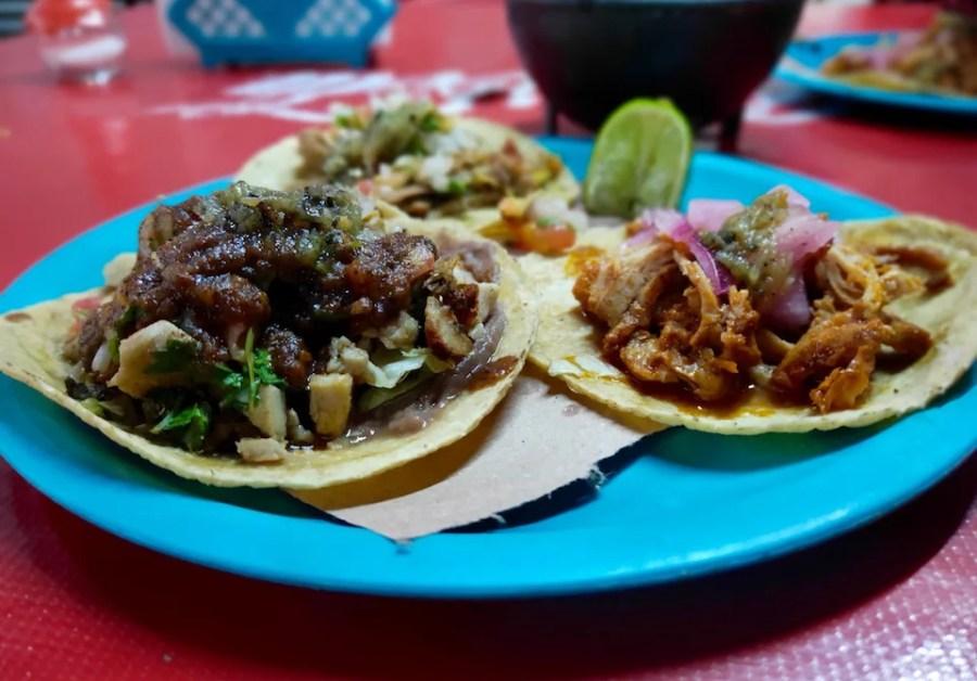 Street tacos Mexico