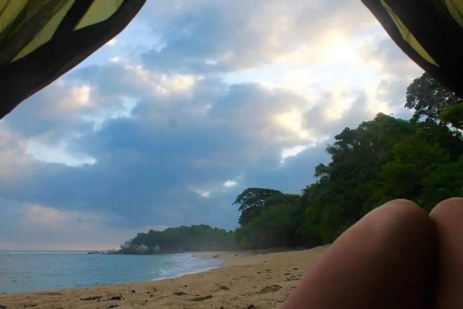 Camping Tayrona Colombia
