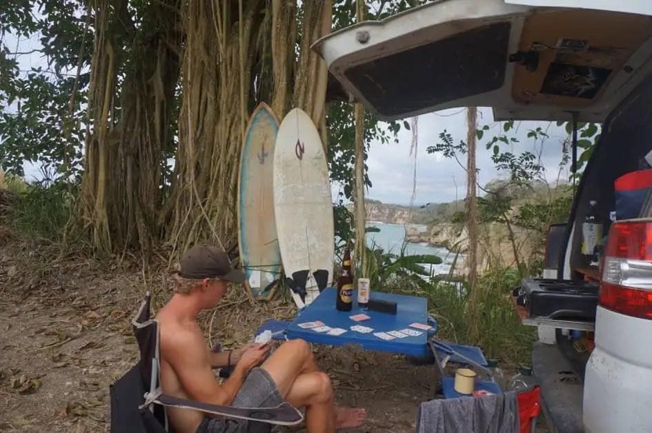 Camping in Mompiche