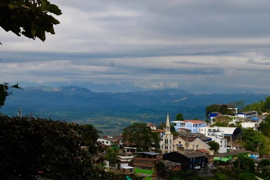 Town in the coffee region of Colombia