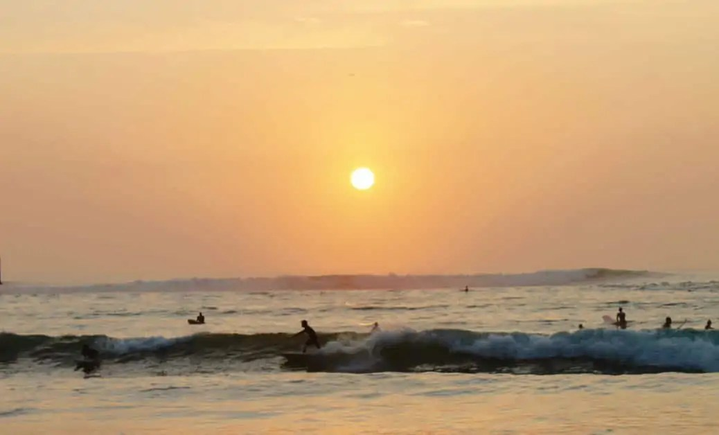 Surfers at Huanchaco