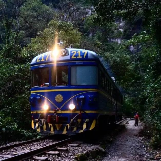 The Cusco Express to Machu Picchu