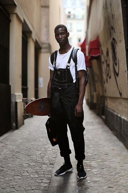 mens fashion overalls