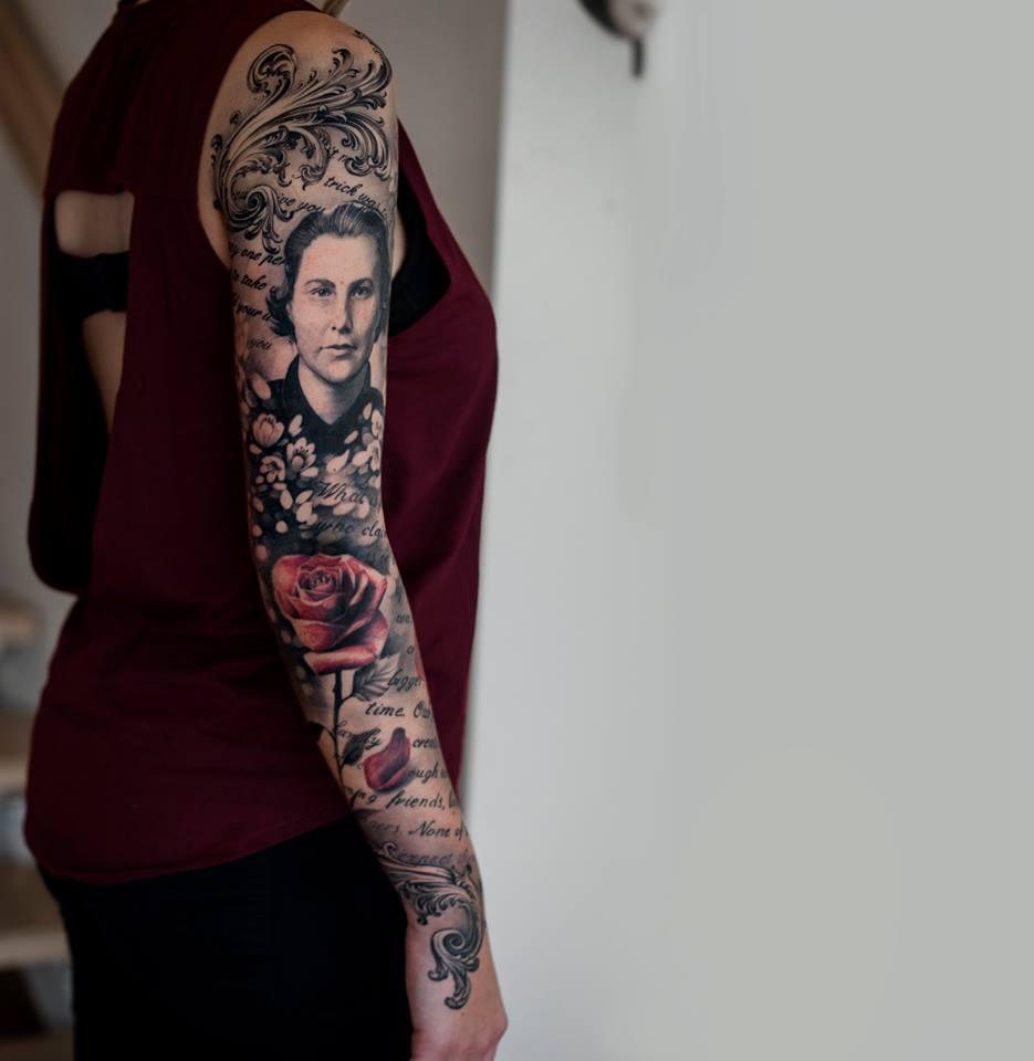 Oscar Akermo Tattoo Artist