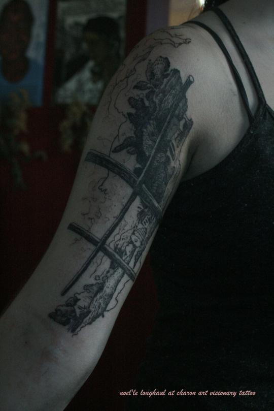 Noelle Longhaul tattoo artist