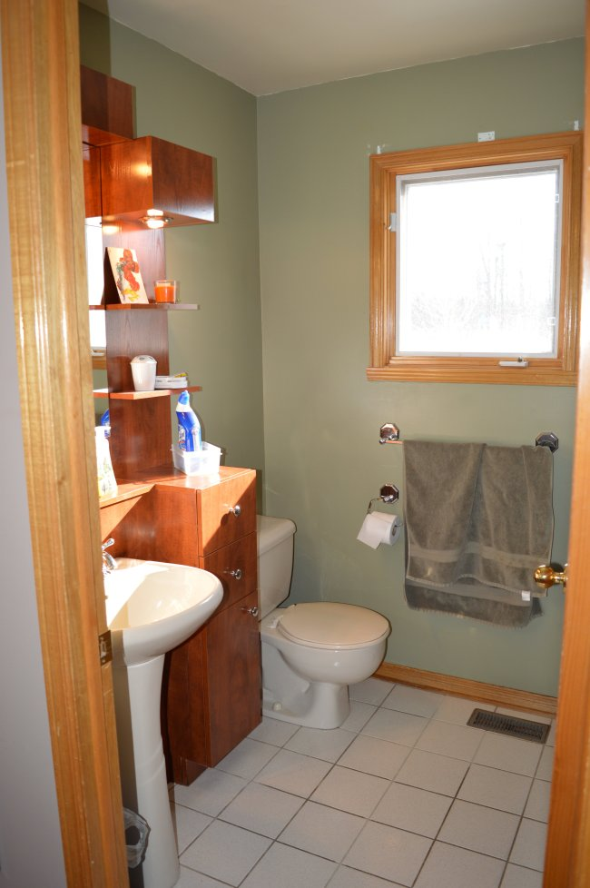 Bathroom makeover before pictures