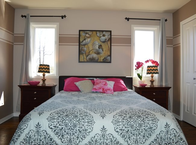 Plain Master Bedroom Upstairs Kids Downstairs With Additional