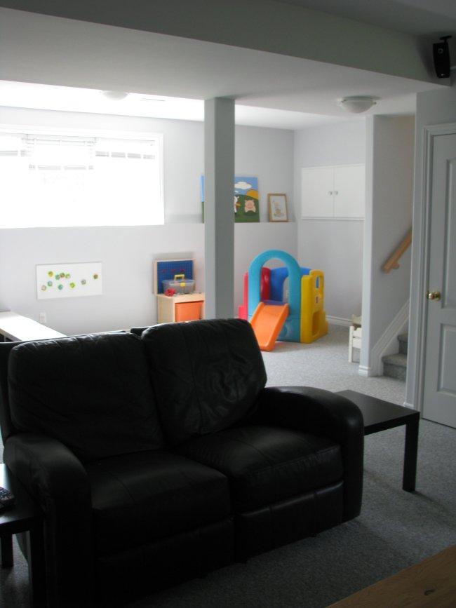 Raised bungalow basement