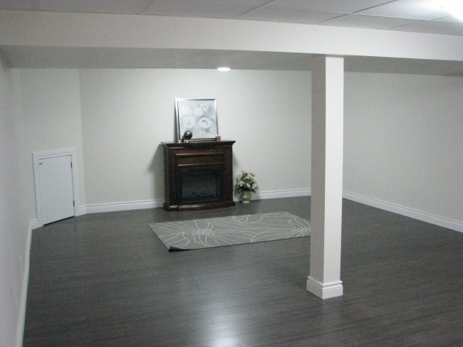flip house basement