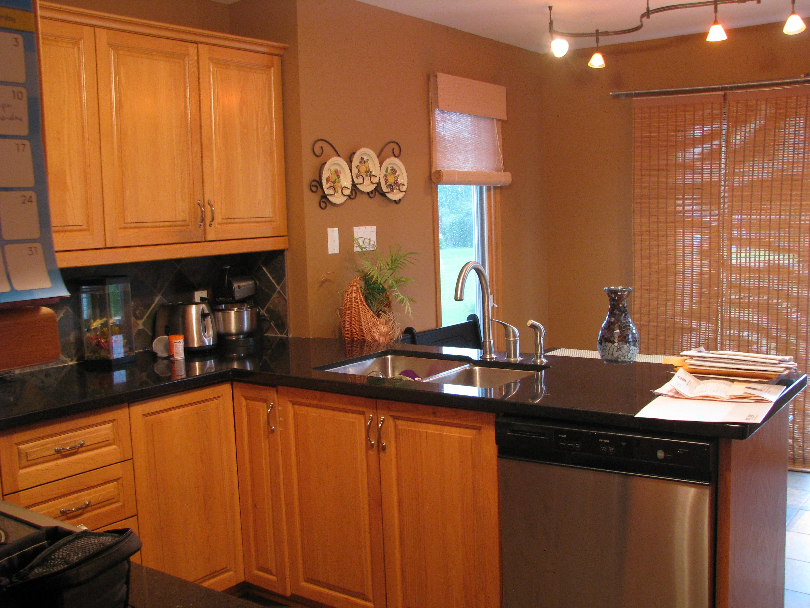 outdated kitchen makeover 90 u0027s oak painted kitchen  u2022 the vanderveen house  rh   thevanderveenhouse com
