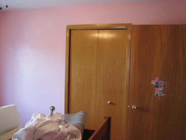 girls bedroom before and after