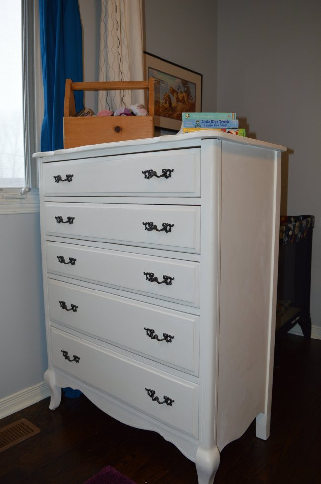 french provincial dresser makeover with annie sloan chalk paint