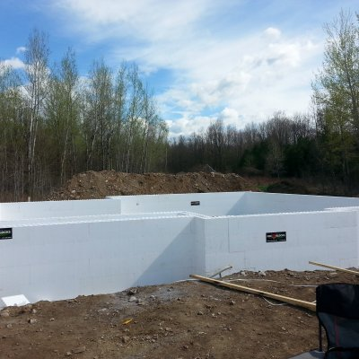 Week 2: Insulated Concrete Form ICF Foundation