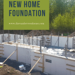DIY ICF new home foundation