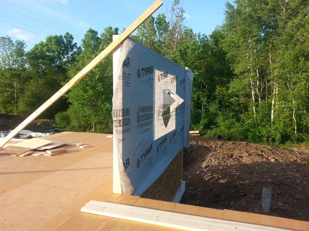 framing a raised bungalow in Ontario