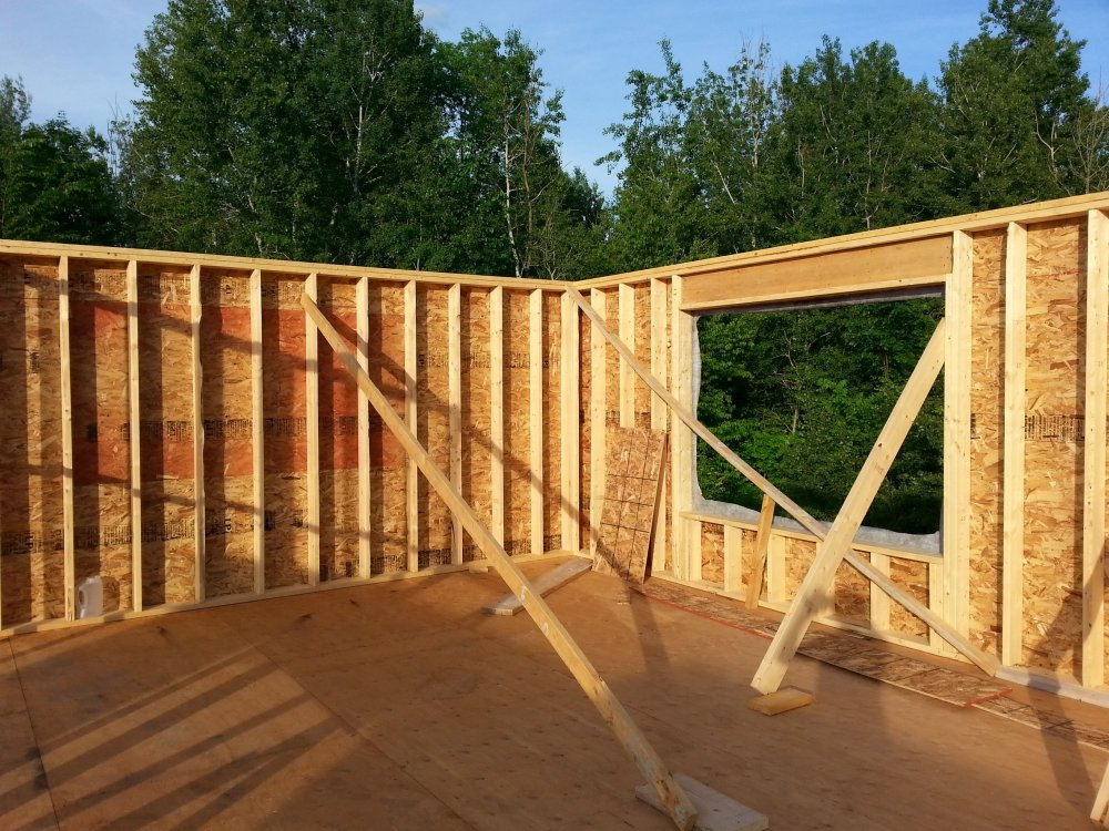 house framing construction