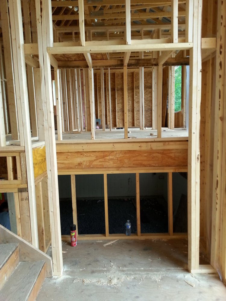 framing a raised bungalow
