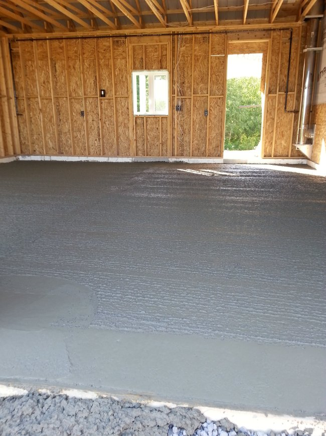 garage floor concrete