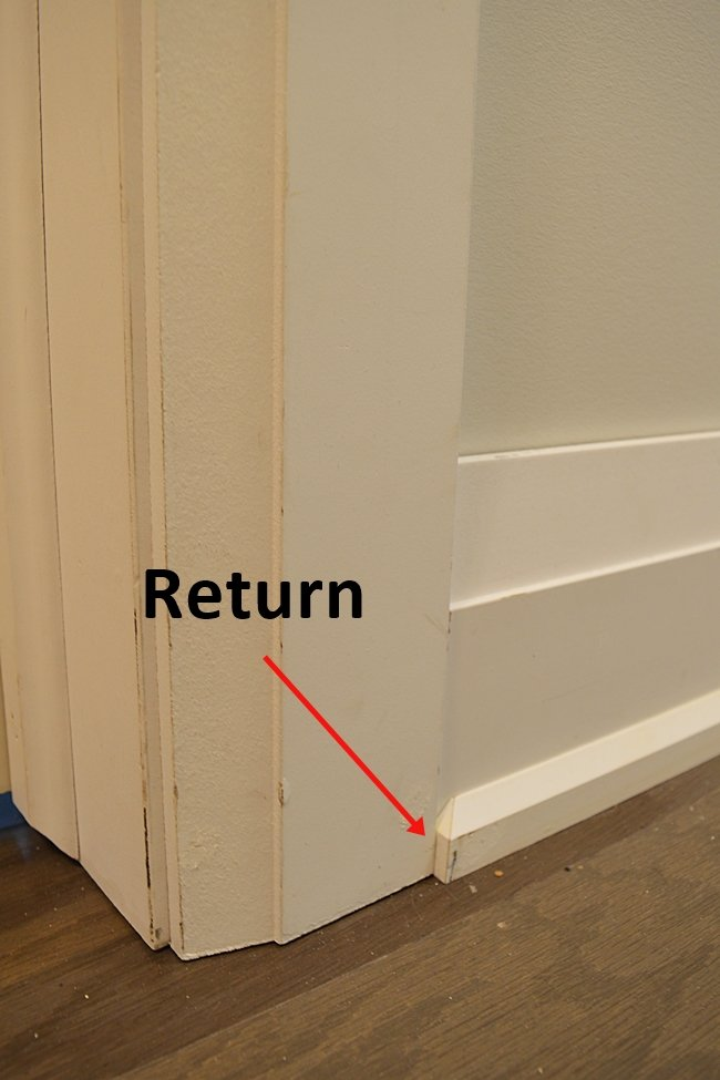 Tips To Install Interior Trim One Room Challenge Week 2