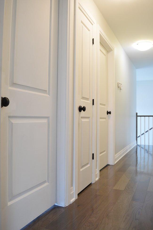 Painting Interior Doors and Trim: One Room Challenge Week ...
