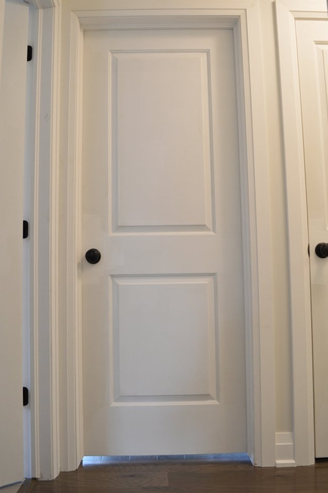Painting Interior Doors And Trim One Room Challenge Week 4 The