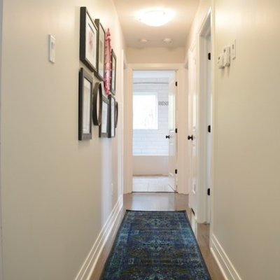 Hall Makeover and a Colorful Gallery Wall