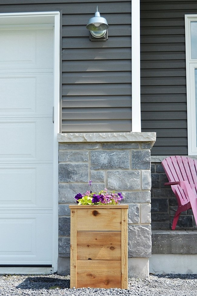 How to build a cedar planter and increase curb appeal