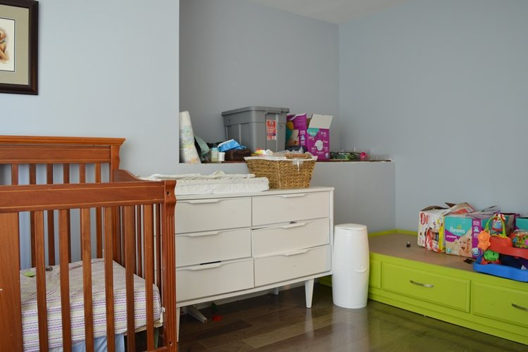 shared boys bedroom makeover with built-in beds