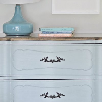 Before and After: DIY Curbside French Provincial Dresser Makeover