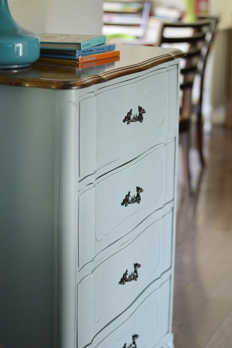 general finishes milk paint dresser