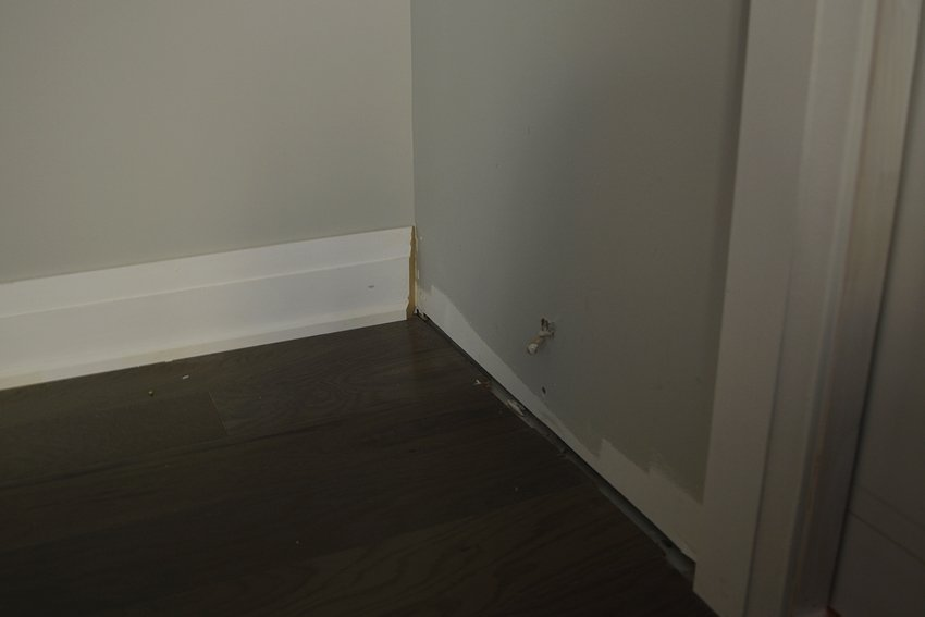 master bedroom trim one room challenge
