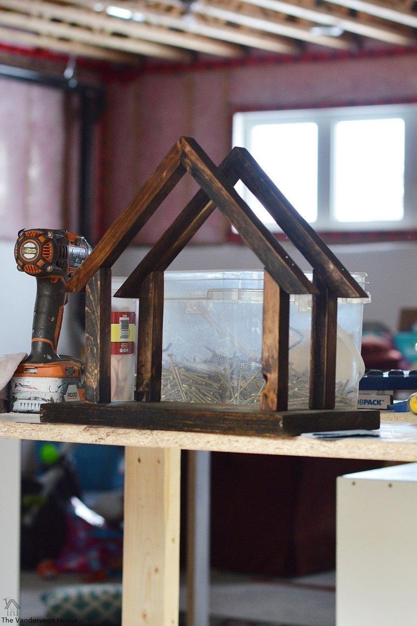 DIY wood nativity minwax stain