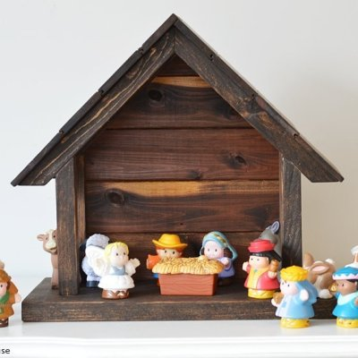 How to make your own wood nativity