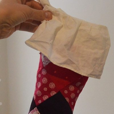 How To Make Quilted Christmas Stockings From Baby Clothes: Part 2