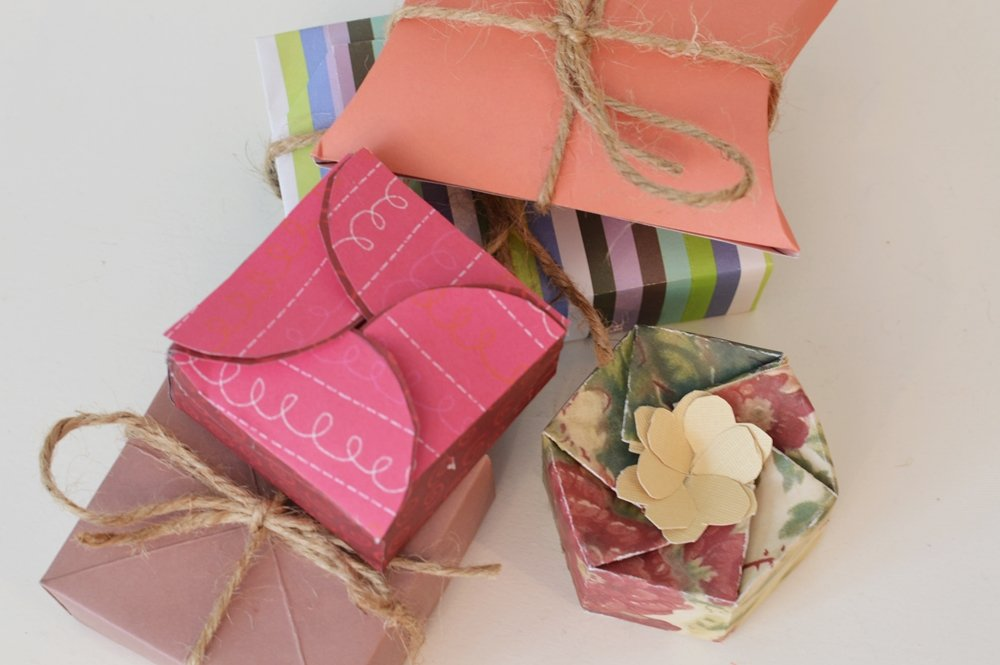 handmade paper gift boxes