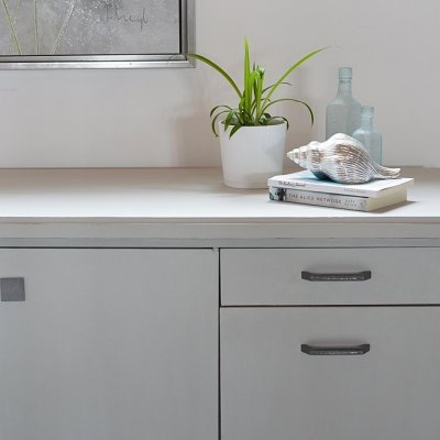 Sideboard Makeover With Country Chic Paint