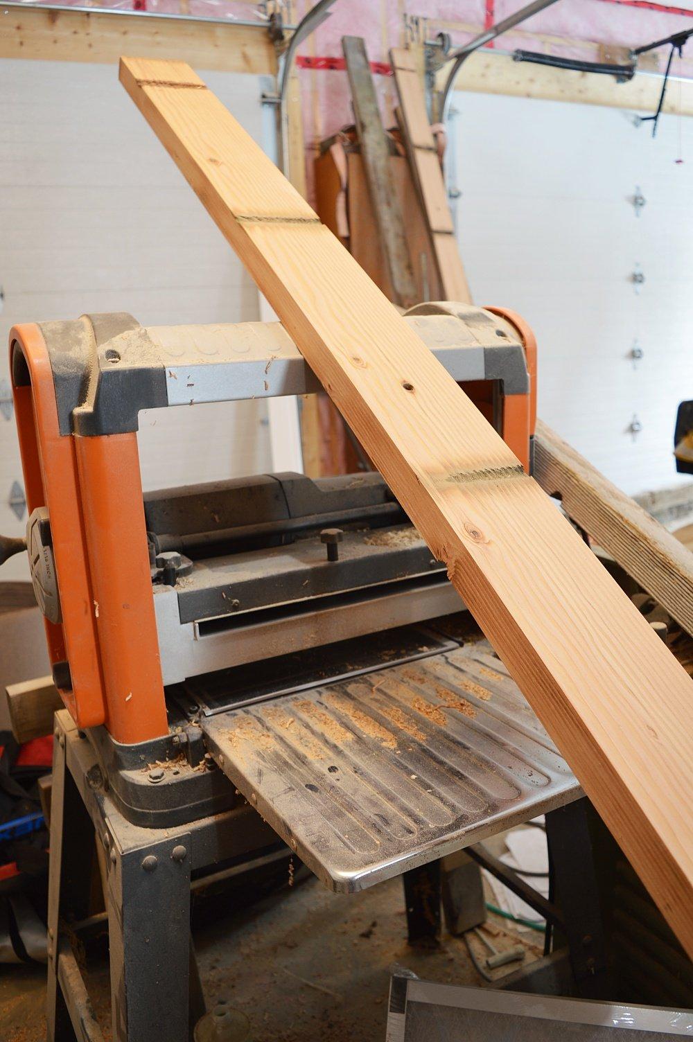 plane fir boards