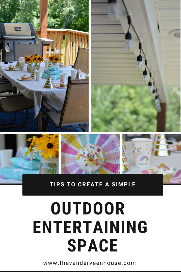 Tips to create the perfect low key outdoor entertaining space
