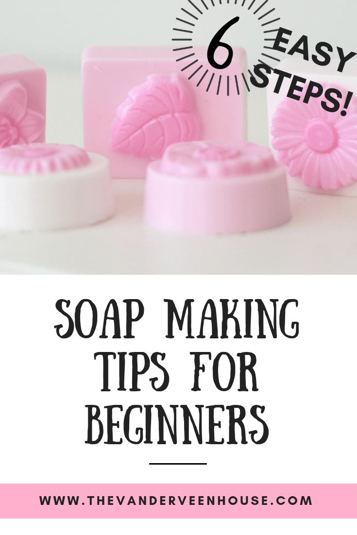 6 easy soap making tips for beginners