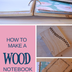 How to make a wood notebook