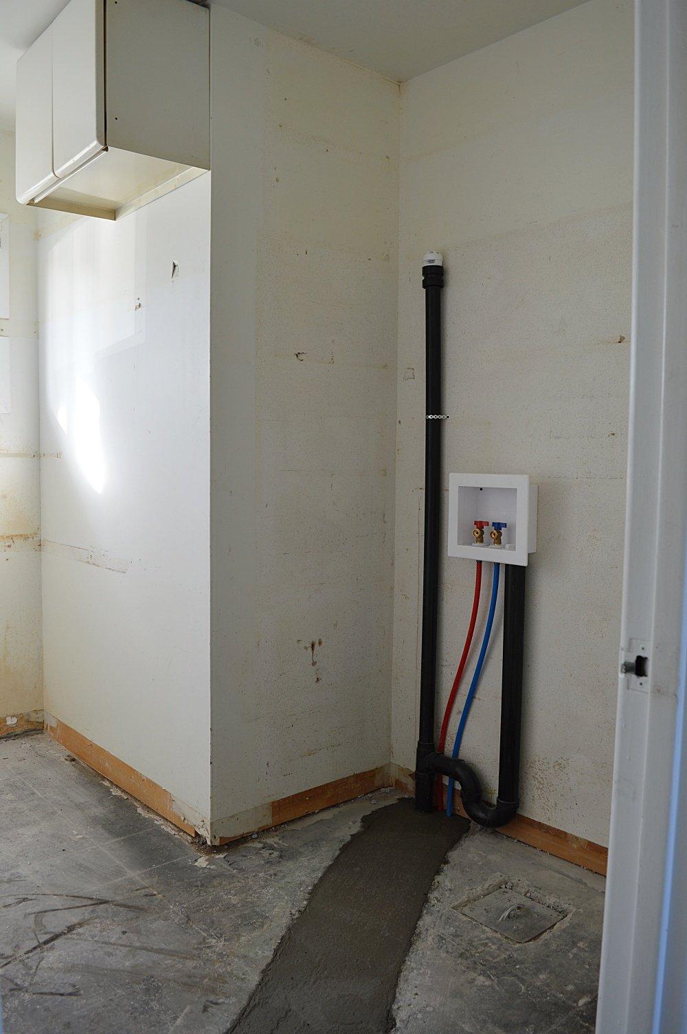 rental property laundry plumbing
