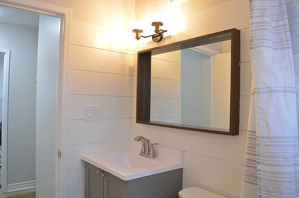 rental property bathroom renovation