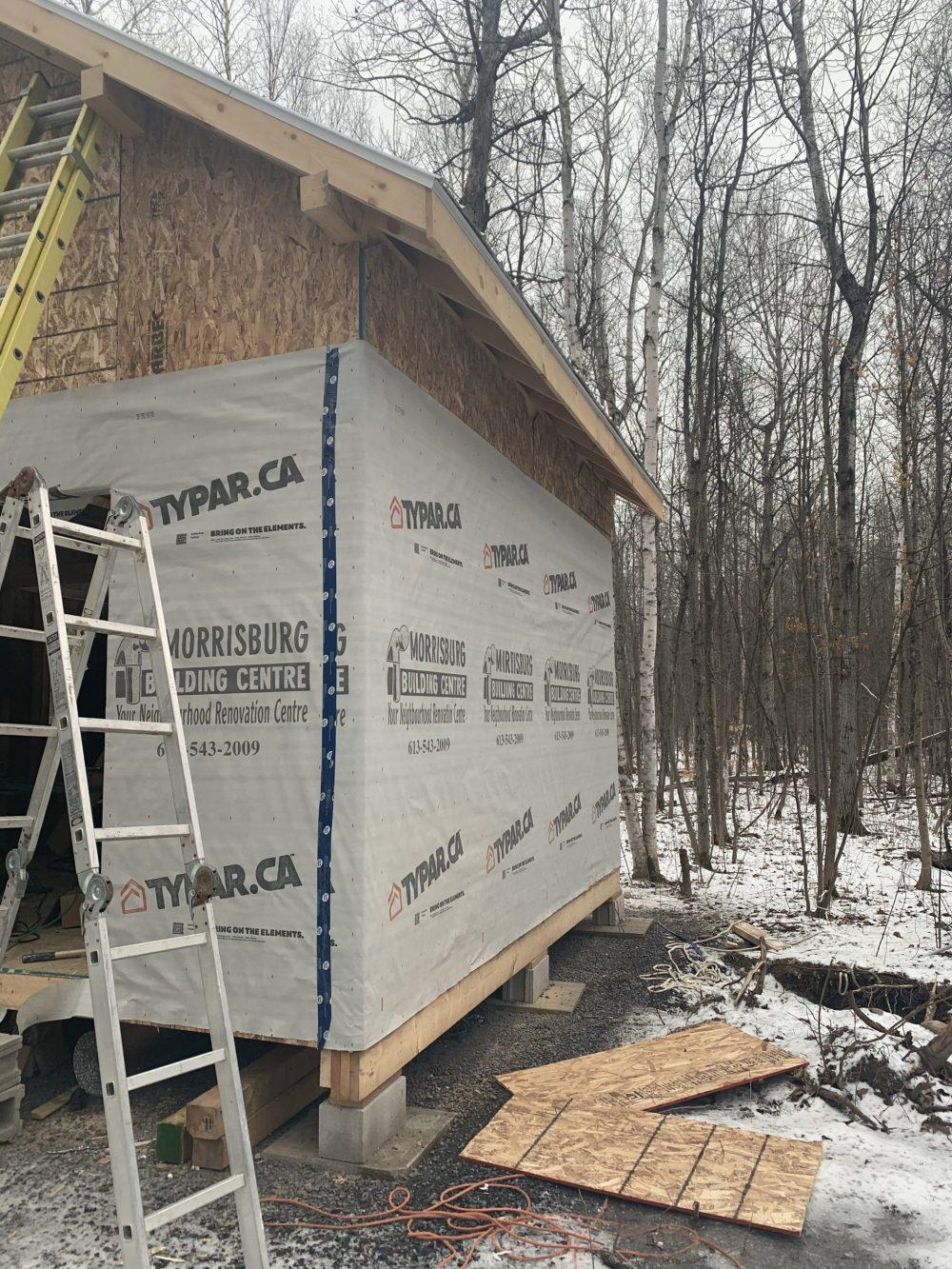 cabin housewrap