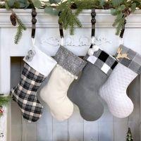 woodland christmas stocking
