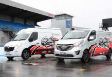 Two Vauxhall Concept vans celebrate commercial vehicle partnership with BSB