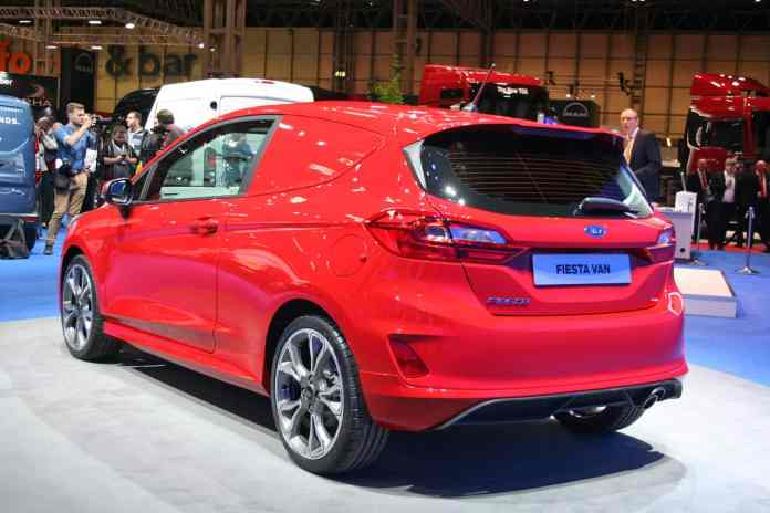 Ford Fiesta Sport Van The Van Expert