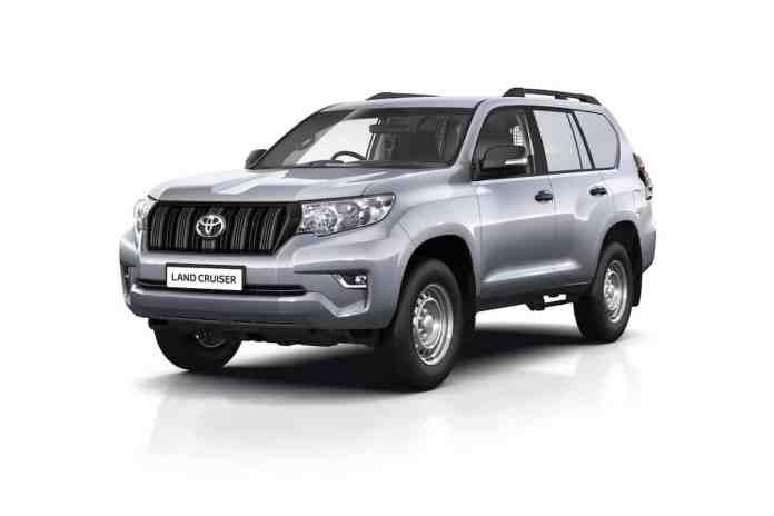 Toyota Land Cruiser Commercial LCV long wheelbase