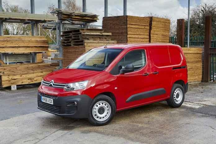 Citroën Berlingo review - front 1   The Van Expert