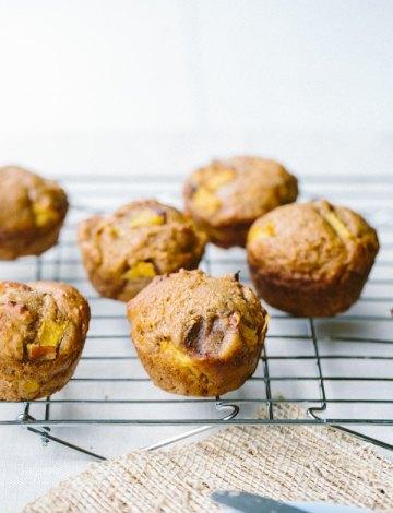 Honey Peach Muffins from The Vanilla Bean Blog